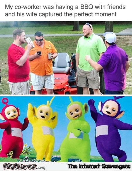 The real teletubbies funny meme - Funny weekend picture dump @PMSLweb.com