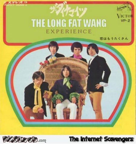 The long fat wang experience funny album cover fail @PMSLweb.com