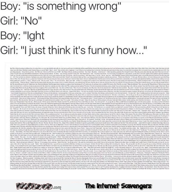 When a girl drops I just think it's funny how funny meme @PMSLweb.com