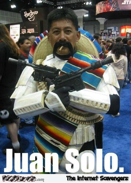 Juan Solo funny meme - Humorous picture collection @PMSLweb.com