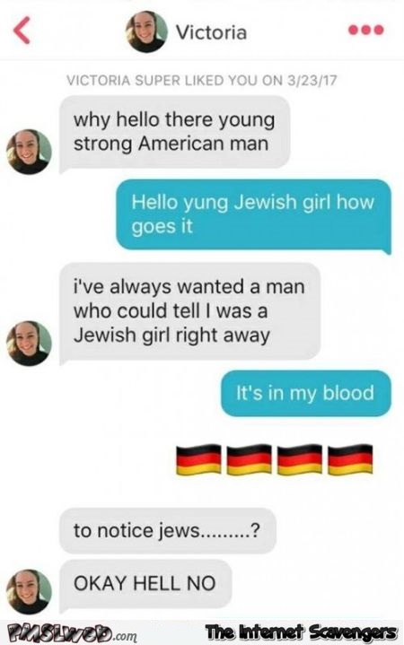 How could you tell I was Jewish funny text - Inappropriate but funny pictures @PMSLweb.com