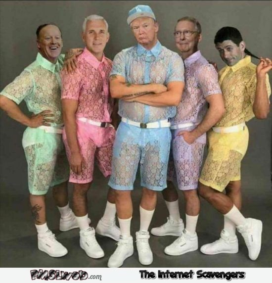 White house gang gets a new douche look funny photoshop @PMSLweb.com