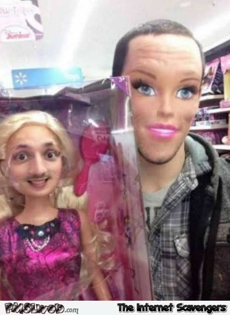 Very funny face swap with doll @PMSLweb.com