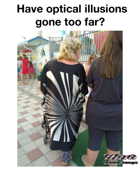 Have optical illusions gone too far funny meme @PMSLweb.com