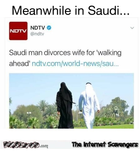 Meanwhile in Saudi funny WFT news @PMSLweb.com