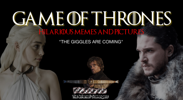 Game of Thrones hilarious memes and pictures