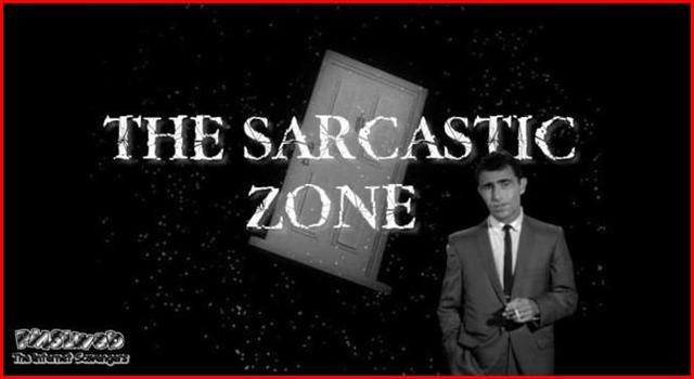 The sarcastic zone @PMSLweb.com