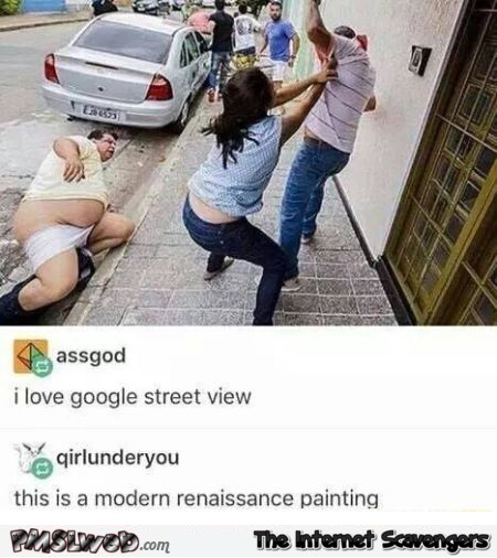 This is a modern renaissance picture Tumblr humor @PMSLweb.com