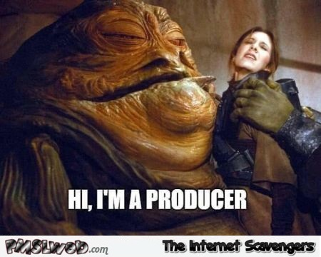 Weinstein is Jabba the hutt funny meme @PMSLweb.com