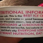 Funny nutritional information label - Pics and giggles @PMSLweb.com