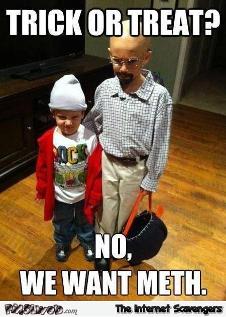 Funny breaking bad Halloween costumes @PMSLweb.com