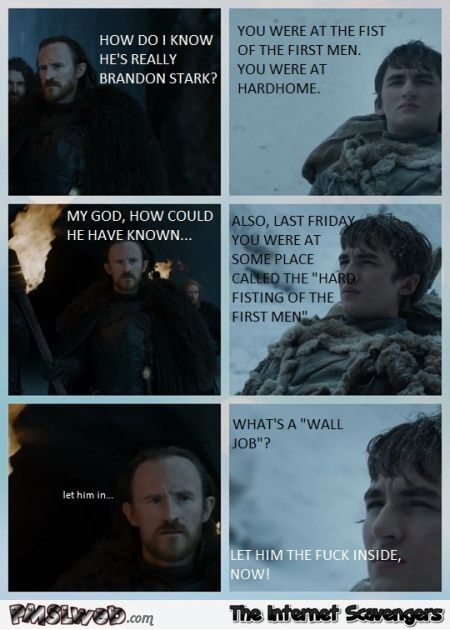 How do I know he's really Brandon Stark meme - Game of Thrones hilarious memes and pictures @PMSLweb.com
