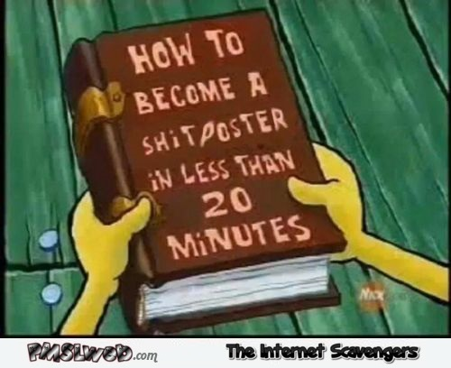 How to become a shitposter in less than 20 minutes humor