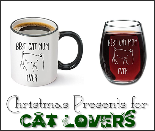 Christmas presents for cat lovers humor @PMSLweb.com