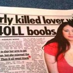 I almost killed lover with my boobs funny news @PMSLweb.com