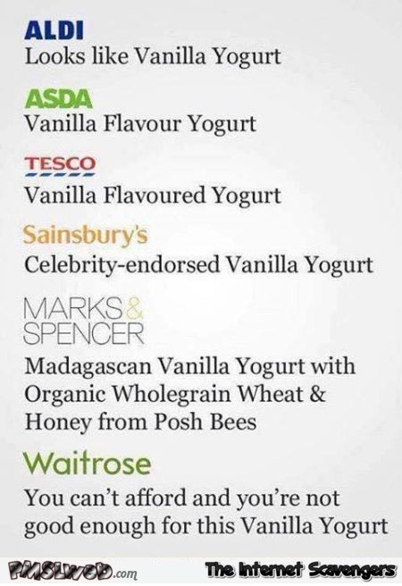 Where do you buy your vanilla yogurt humor @PMSLweb.com
