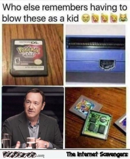 Who remembers having to blow these as a kid funny adult meme @PMSLweb.com