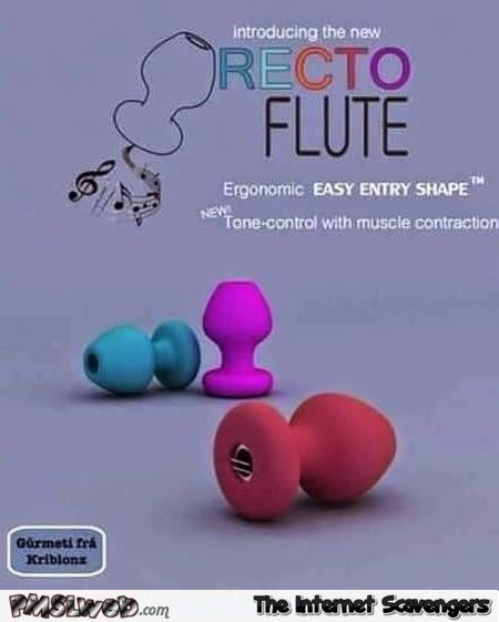 The recto flute adult humor @PMSLweb.com
