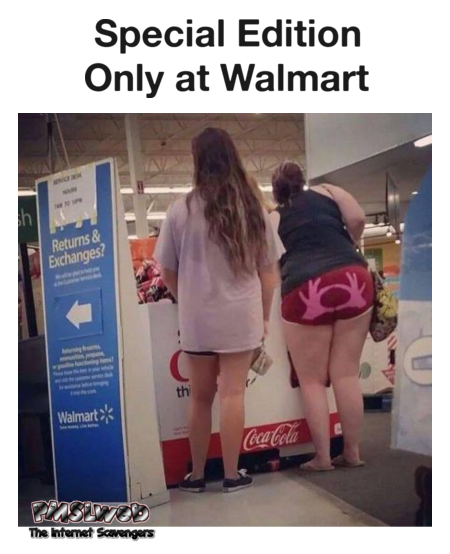 Only at Walmart funny fail