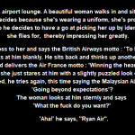 The flight attendant funny joke - Random memes and funnies @PMSLweb.com