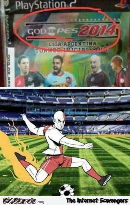 Funny god of PES meme @PMSLweb.com
