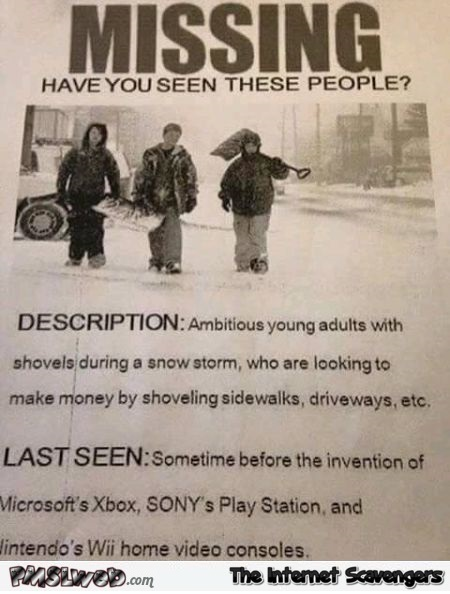 Where have the ambitious young adults gone video game humor @PMSLweb.com