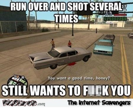 Funny GTA video game logic @PMSLweb.com