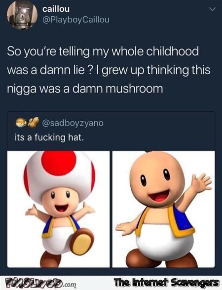 My whole childhood was a damn lie funny comment