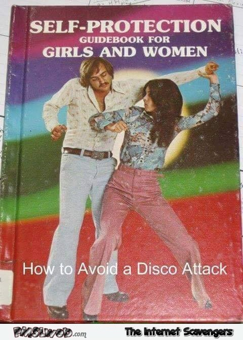 How to avoid a disco attack funny book cover @PMSLweb.com