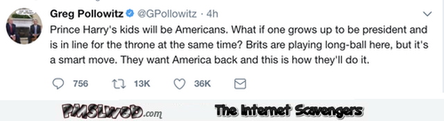 How the Brits plan on getting back America funny tweet