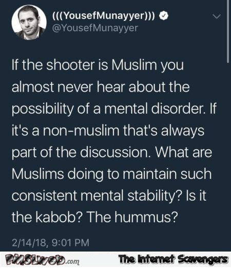 What are Muslims doing to maintain mental stability funny post @PMSLweb.com