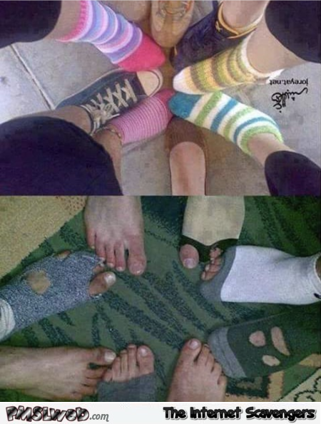 Taking cute feet in a circle pics funny meme @PMSLweb.com