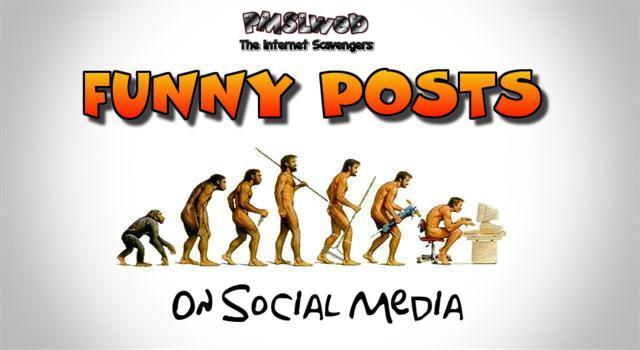 Funny posts on social media @PMSLweb.com