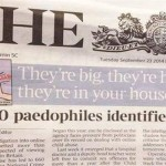 Funny pedophiles identified newspaper placement fail - Daily funny pictures @PMSLweb.com