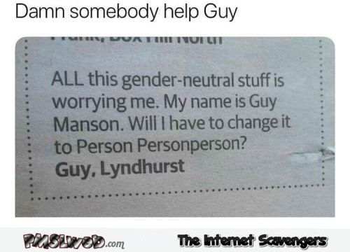 Someone must help Guy funny meme @PMSLweb.com