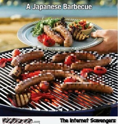 Funny Japanese barbecue meme