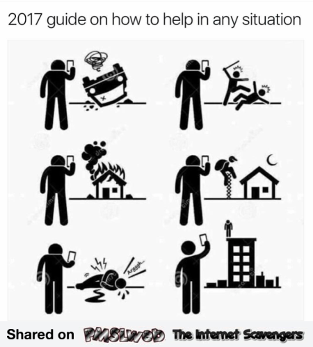 Funny guide on how to help in any situation