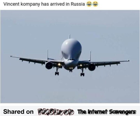 Vincent Kompany has arrived in Russia funny meme - World cup 2018 memes @PMSLweb.com