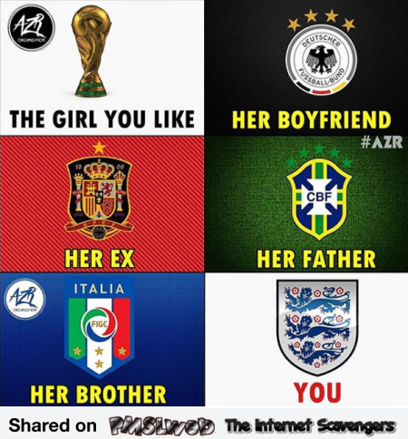 The girl you like funny football meme