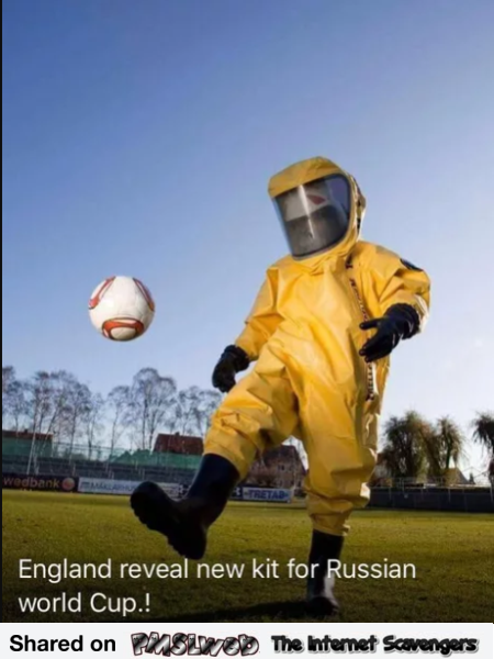 England reveals new Kit for Russian World cup funny meme @PMSLweb.com