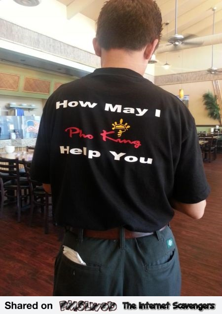 How may I Pho King help you funny t-shirt