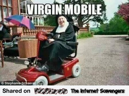 Funny Virgin mobile meme